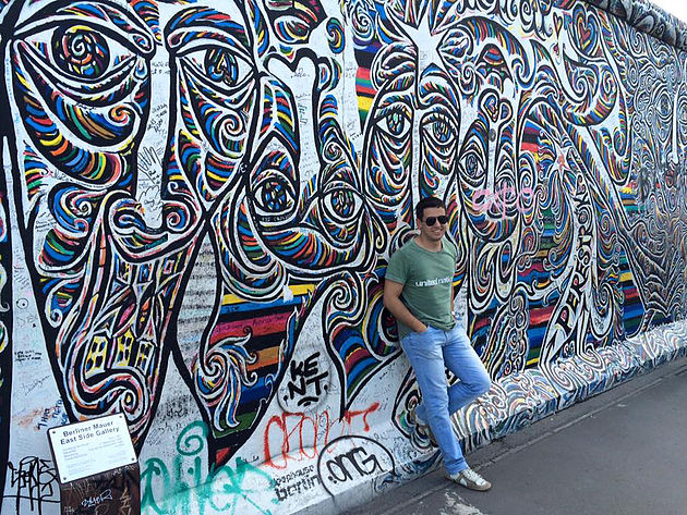 East Side Gallery, Berlim