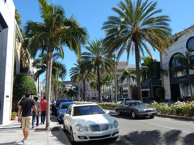 Rodeo Drive em Beverly Hills